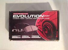 Power Stop Z23-702 Z23 Evolution Sport Carbon Fiber Ceramic Rear Brake Pads