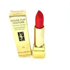 Yves Saint Laurent Rouge Pur Couture Lipstick ~ 73 Rhythm Red ~ 0.13 oz Bnib