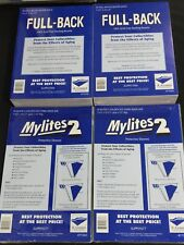 100 E. Gerber Mylites 2 775M2 and Full Backs 750 FB for Silver Golden Age Comics