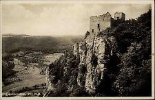 WIESENSTEIG AK 1931 Wirtschaft z. Reussenstein Ruine Burg Castle alte Postkarte