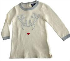 Winter Cotton Blend Dresses (0-24 Months) for Girls