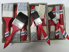 36- Vintage Eterna Paint Brushes  Size 1''--1 1/2''---2 1/2'' inches