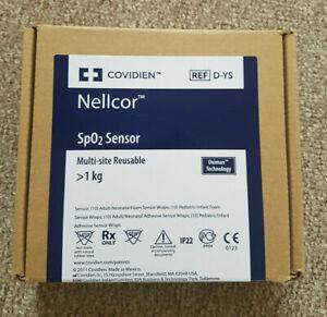Nellcor D-YS Oximax Neonatal/ Pediatric/ Adult sensor (New)