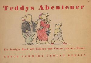 Comic von 1946 - Teddys Abenteuer - Schmidt-Verlag , Querformat Z: A. von Riese