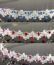 Tiaras y diademas de novia de color principal rojo