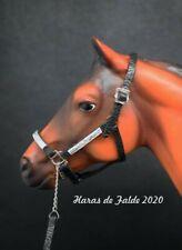 licol western halter échelle 1/9e pour cheval model horse type Breyer