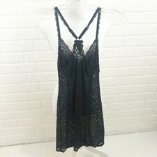Victoria's Secret black lace slip size small racerback
