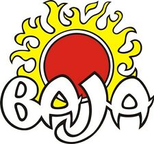 """BAJA BOAT STICKER/DECAL 6"""" WIDE BY 5"""" HIGH!"""