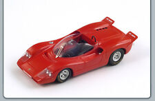 Spark S1329 - ABARTH 2000 Sport Spider 1968 rouge 1/43