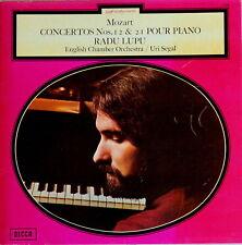 Decca SXL 6.698 MOZART Piano Concerto No.21 & 12 RADU LUPU Uri SEGAL