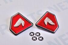 Honda CB750 1972-76 Side Cover Badges Emblems Diamond Red