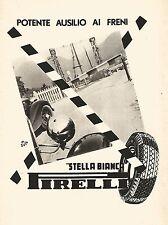 W9361 Pneumatici Stella Bianca PIRELLI - Pubblicità del 1939 - Old advertising