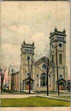 1908. FIRST PRESBYTERIAN CHURCH. ELMIRA, NY. POSTCARD. TW6
