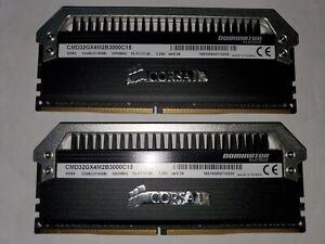 ✔✔ CORSAIR Dominator PLATINUM 32GB (2 x 16GB) 3000MHz DDR4 ✔C15✔ PC4-24000