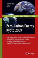 Zero-Carbon Energy Kyoto 2009 : Proceedings of the First International...