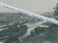 Würzburg - Blick vom Käppele mainaufwärts - um 1915          Z 1-23