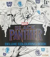 Black Panther - Deluxe Colouring Book by Centum Books Ltd New Paperback Book