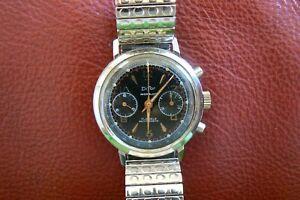 chronographe vintage difor landeron 248 ,37.5mm