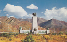 Chrome Postcard B028 This is the Place Monument Emigration Canyon SLC UTAH
