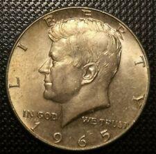 USA -- Kennedy Silver Half Dollar 1965 UNC