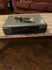 New listing Sharp Vc-A343U Vcr Video Cassette Recorder Vhs Player! Tested and Working! W/Av