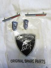 Lamborghini Miura Bertone side badge emblem set NOS