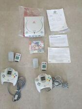 Sega Dreamcast Console + Lot