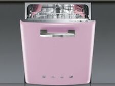 NEW DISHWASHER UNDERMOUNTED RECESSED 50CM A SMEG ST2FABPK PINK 50 YEARS'