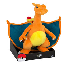 "Pokemon CHARIZARD Rare Exclusive OFFICIAL TOMY Licensed 14"" JUMBO Plush w/Box"