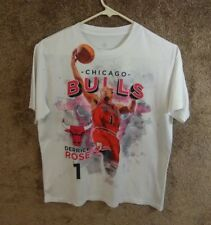 Derrick Rose Chicago Bulls Level Wear T Shirt size xl 14/16