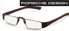 Porsche Design P 8801 E dunkelbraun +1,0 bis +4,0 Lesebrille Computerbrille