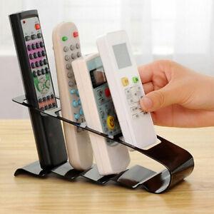 BG_ Portable TV DVD Remote Control Holder Stand Rack Storage Organiser Shelf Sig