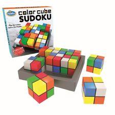 JEU DE TABLE SUDOKU CUBES COULEURS Thinkfun 76342