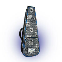 Lanikai Baritone Ukulele Case Tribal Graphic Design Adjustable NEW!