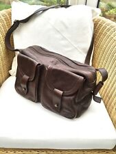 JIGSAW Large Soft Brown Leather Shoulder bag Work Office Travel VGC