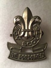 Boy Scouts- Canadian Boy Scouts Hat Badge - Montreal manufacturer