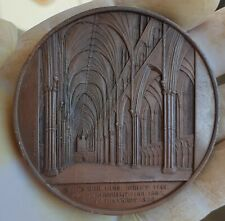 architecture medal by j. Wiener Lincoln Cathedral 1857