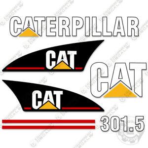 Caterpillar 301.5 Mini Excavator Decal Kit Equipment Decals