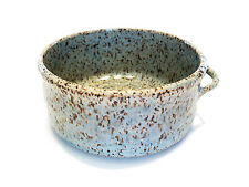 Vintage Studio Pottery Bowl with Handle - Signed - Canada - Late 20th Century