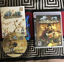 Genji: Days of the Blade (Sony PlayStation 3, 2006) COMPLETE CLEAN DISC