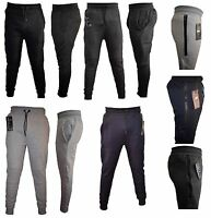 Boys Kids tracksuit bottoms fleece trouser sweatpants jogging with **ZIP**2-12