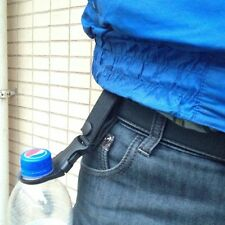 Water Bottle Buckle Hook Holder Clip Camping Hiking Traveling Black