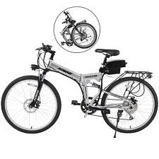"26"" Electric Bicycle Aluminum Folding Mountain Cycling E-Bike 7 Speeds 36V 250W"