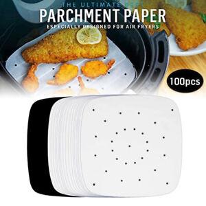 100pcs Air Fryer Parchment Paper Sheets Accessories for Airfryer Frying CookiZJ