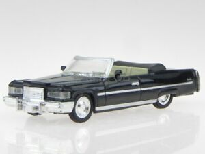 Cadillac Coupe de Ville Convertible 1976 black modelcar NewRay 1:43