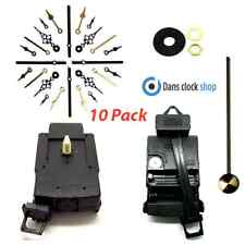 10 Pack Quartz Complete Pendulum Clock Drive Unit Movement Mechanism Metal Hand
