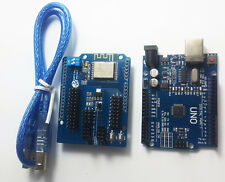 ESP8266 WiFi Expansion Board ESP-13 Shield and UNO R3 WiFi Suite For Arduino