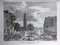 Napoli en 1799 Italie Naples Championnet Mack Militerno Fort Saint Elme Carmes