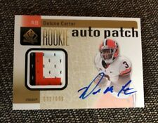 2011 UD SP Authentic~DELONE CARTER #234 RC~RPA Syracuse Rookie Patch Auto~Beauty