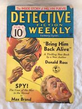 Detective Fiction Weekly - Feb 9, 1935 - Donald Ross, Max Brand, Linklater